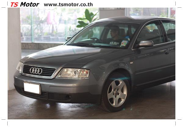 IMG 2009 อู่สี ผลงานซ่อมสี Audi A6 C5 ฝากระโปรงหน้า จาก TS Motor