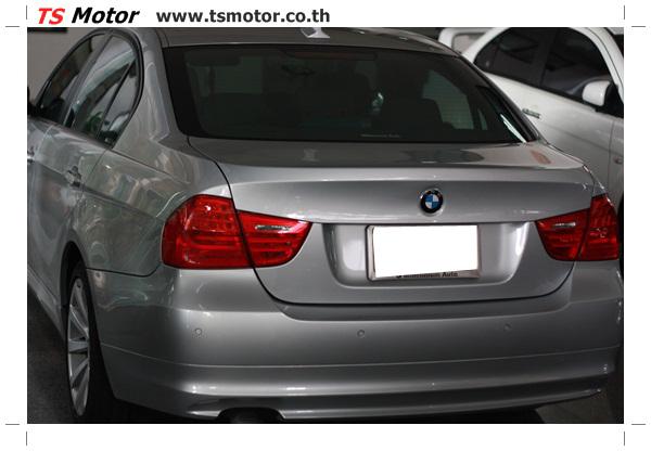 IMG 2079 งานซ่อมสีรถยนต์ BMW Series 3 E90 ชนด้านหลัง และด้านหน้า เก็บรายละเอียดเพื่อความเรียบร้อย