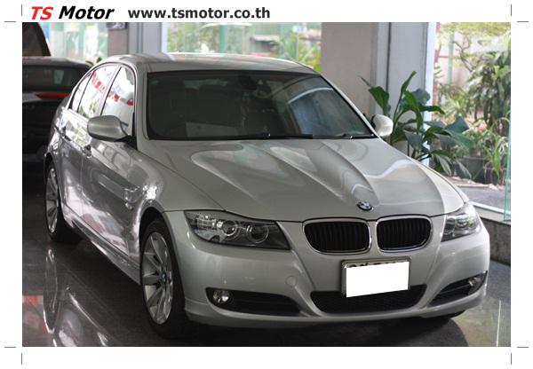 IMG 2080 งานซ่อมสีรถยนต์ BMW Series 3 E90 ชนด้านหลัง และด้านหน้า เก็บรายละเอียดเพื่อความเรียบร้อย