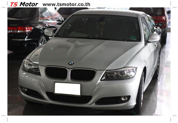 IMG 2081 งานซ่อมสีรถยนต์ BMW Series 3 E90 ชนด้านหลัง และด้านหน้า เก็บรายละเอียดเพื่อความเรียบร้อย