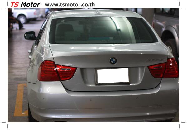 IMG 2096 งานซ่อมสีรถยนต์ BMW Series 3 E90 ชนด้านหลัง และด้านหน้า เก็บรายละเอียดเพื่อความเรียบร้อย