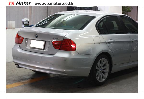 IMG 2097 งานซ่อมสีรถยนต์ BMW Series 3 E90 ชนด้านหลัง และด้านหน้า เก็บรายละเอียดเพื่อความเรียบร้อย