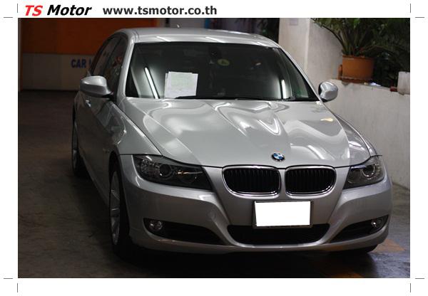 IMG 2098 งานซ่อมสีรถยนต์ BMW Series 3 E90 ชนด้านหลัง และด้านหน้า เก็บรายละเอียดเพื่อความเรียบร้อย