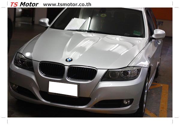 IMG 2099 งานซ่อมสีรถยนต์ BMW Series 3 E90 ชนด้านหลัง และด้านหน้า เก็บรายละเอียดเพื่อความเรียบร้อย