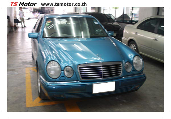 IMG 3287 ศูนย์บริการซ่อมสีรถยนต์ TS Motor งานซ่อมสี Mercedes Benz W210