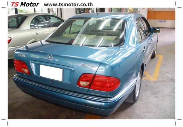 IMG 3288 ศูนย์บริการซ่อมสีรถยนต์ TS Motor งานซ่อมสี Mercedes Benz W210