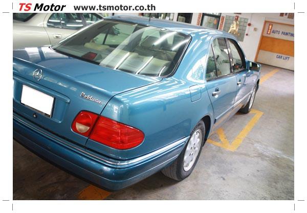IMG 3289 ศูนย์บริการซ่อมสีรถยนต์ TS Motor งานซ่อมสี Mercedes Benz W210