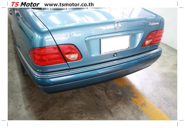 IMG 3292 ศูนย์บริการซ่อมสีรถยนต์ TS Motor งานซ่อมสี Mercedes Benz W210