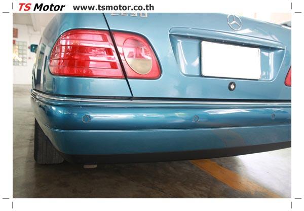 IMG 3293 ศูนย์บริการซ่อมสีรถยนต์ TS Motor งานซ่อมสี Mercedes Benz W210