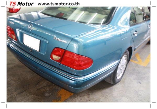 IMG 3294 ศูนย์บริการซ่อมสีรถยนต์ TS Motor งานซ่อมสี Mercedes Benz W210