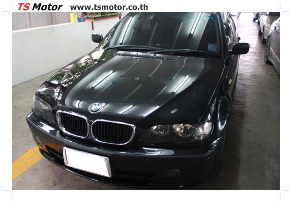 IMG 3485 BMW ซีรีย์ 3 ซ่อมสีกันชน และฝากระโปรงหน้า