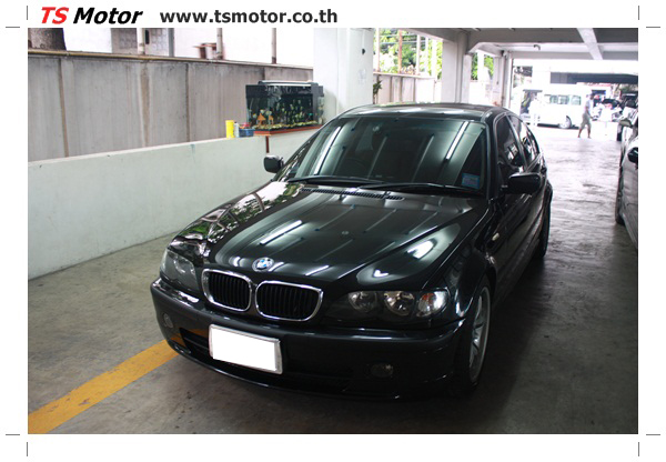 IMG 3487 BMW ซีรีย์ 3 ซ่อมสีกันชน และฝากระโปรงหน้า