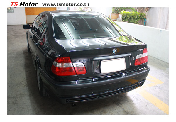 IMG 3490 BMW ซีรีย์ 3 ซ่อมสีกันชน และฝากระโปรงหน้า