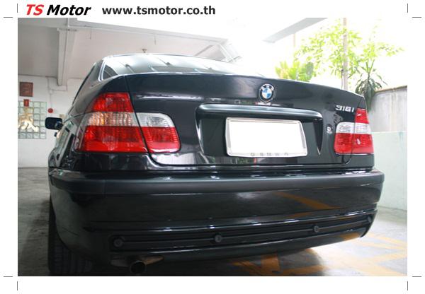IMG 3491 BMW ซีรีย์ 3 ซ่อมสีกันชน และฝากระโปรงหน้า