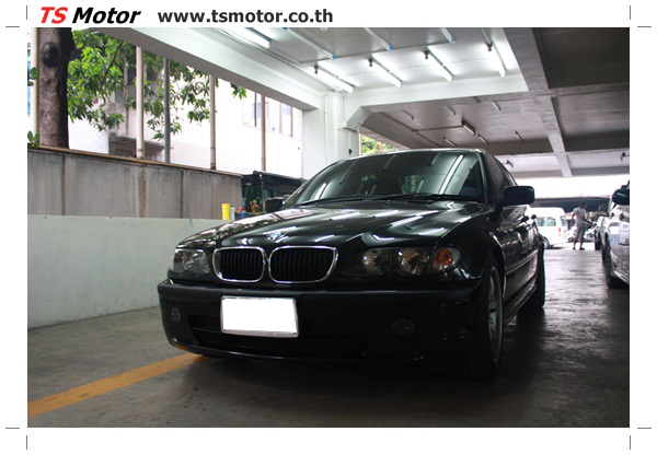 IMG 3492 BMW ซีรีย์ 3 ซ่อมสีกันชน และฝากระโปรงหน้า