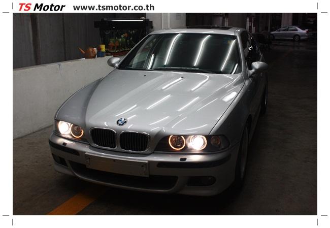 IMG 3986 อู่สี ทีเอส มอเตอร์ งานซ่อม BMW  M5 นำเข้าตามเจ้าของรถ จาก UK