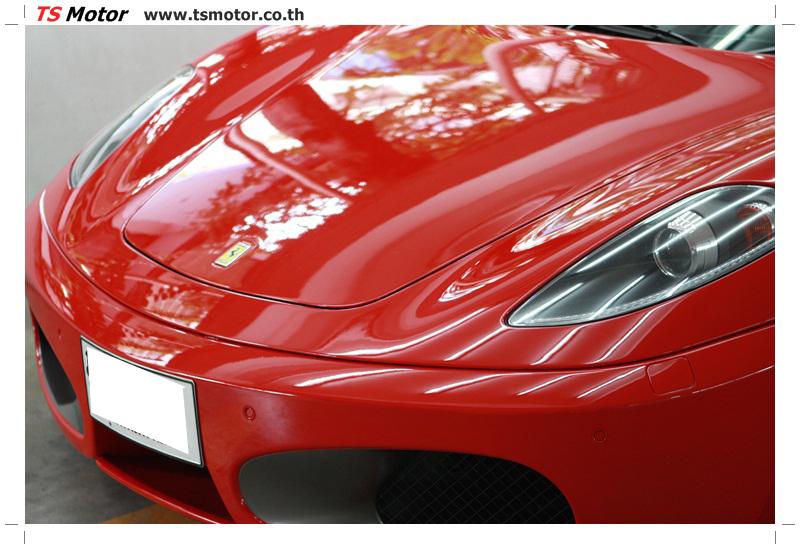 IMG 4167 อู่ทำสีรถ งานซ่อมสี เคลมประกัน Ferrari F430 สีแดง