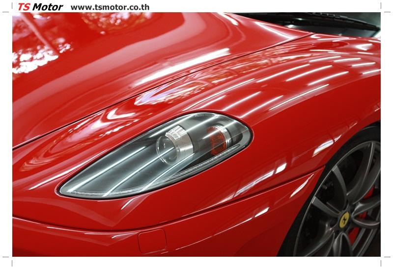 IMG 4169 อู่ทำสีรถ งานซ่อมสี เคลมประกัน Ferrari F430 สีแดง