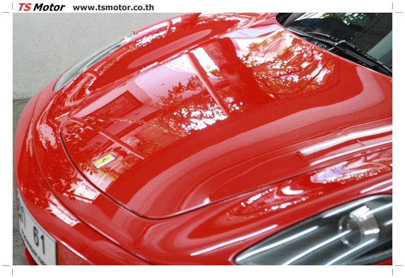 IMG 4170 อู่ทำสีรถ งานซ่อมสี เคลมประกัน Ferrari F430 สีแดง