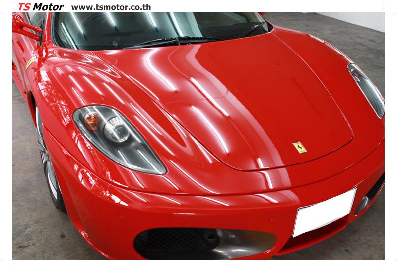 IMG 4171 อู่ทำสีรถ งานซ่อมสี เคลมประกัน Ferrari F430 สีแดง