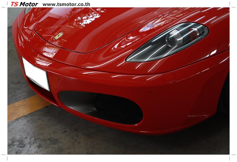 IMG 4173 อู่ทำสีรถ งานซ่อมสี เคลมประกัน Ferrari F430 สีแดง