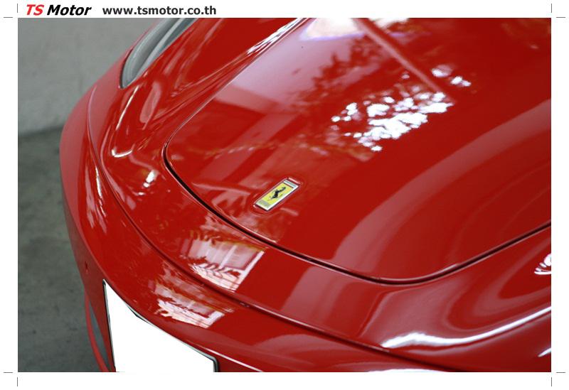 IMG 4174 อู่ทำสีรถ งานซ่อมสี เคลมประกัน Ferrari F430 สีแดง