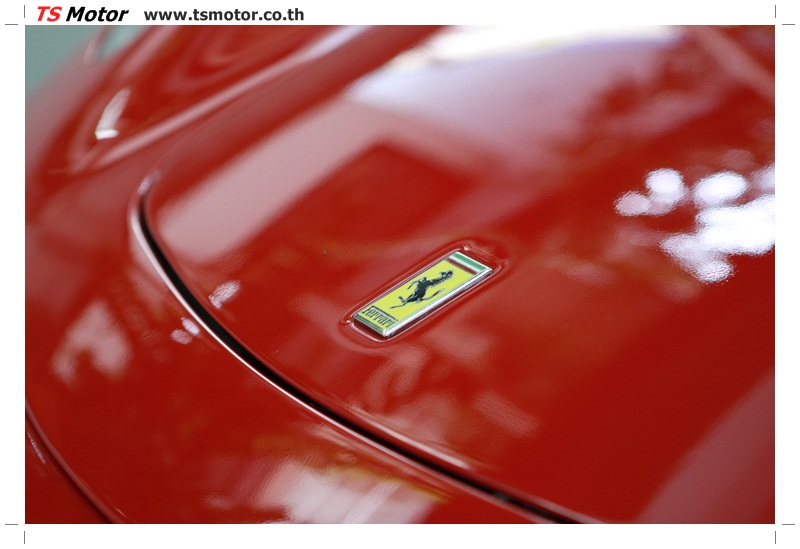 IMG 4175 อู่ทำสีรถ งานซ่อมสี เคลมประกัน Ferrari F430 สีแดง