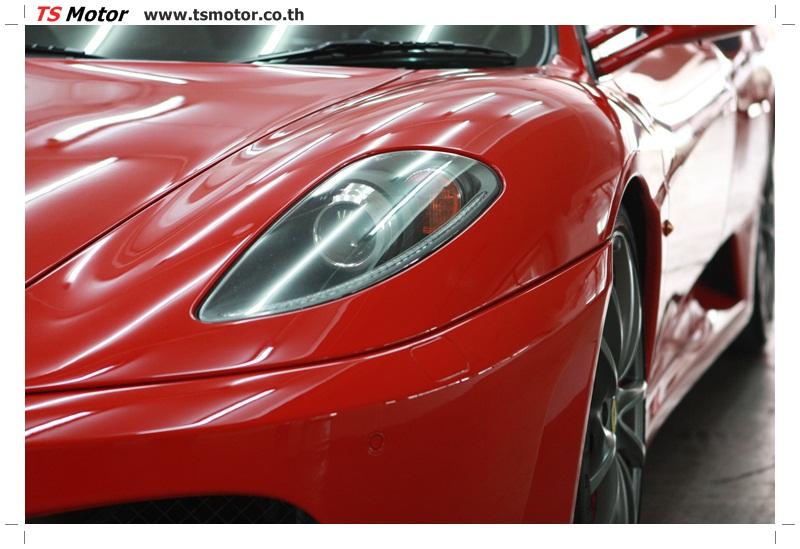 IMG 4176 อู่ทำสีรถ งานซ่อมสี เคลมประกัน Ferrari F430 สีแดง
