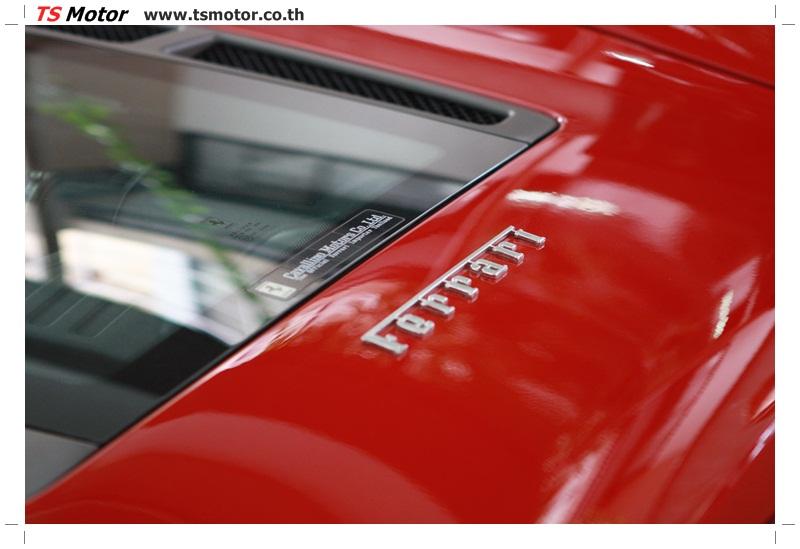 IMG 4183 อู่ทำสีรถ งานซ่อมสี เคลมประกัน Ferrari F430 สีแดง