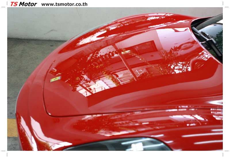 IMG 4188 อู่ทำสีรถ งานซ่อมสี เคลมประกัน Ferrari F430 สีแดง
