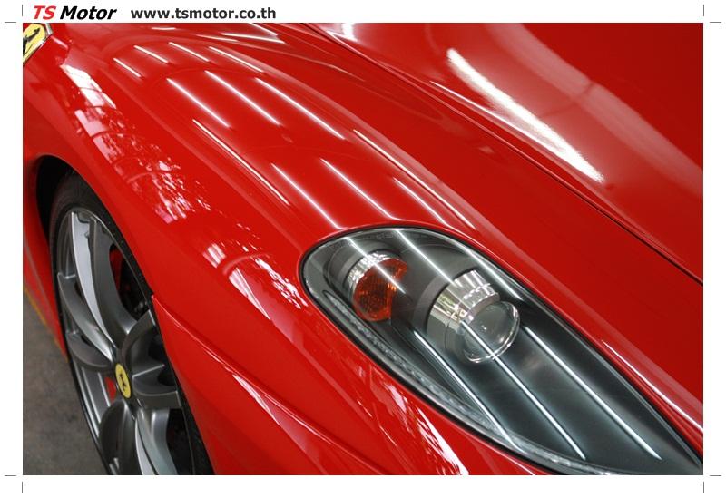 IMG 4193 อู่ทำสีรถ งานซ่อมสี เคลมประกัน Ferrari F430 สีแดง