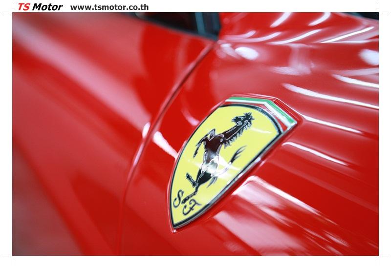 IMG 4194 อู่ทำสีรถ งานซ่อมสี เคลมประกัน Ferrari F430 สีแดง