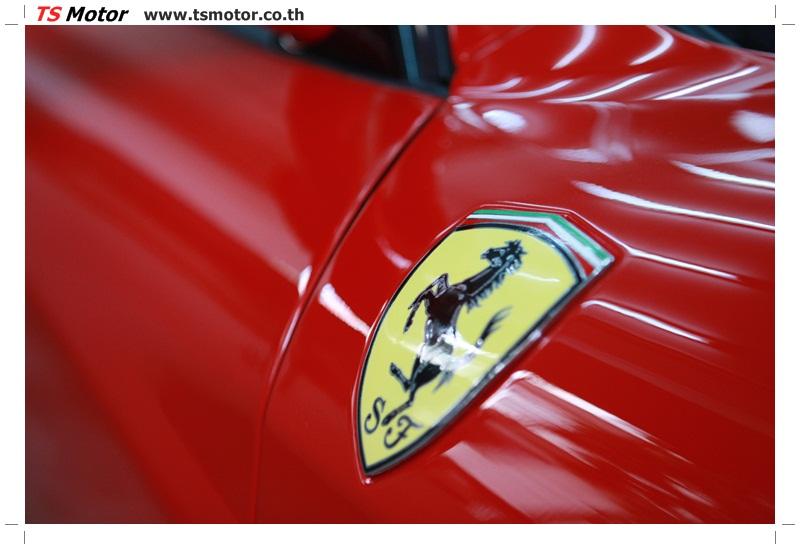 IMG 4195 อู่ทำสีรถ งานซ่อมสี เคลมประกัน Ferrari F430 สีแดง