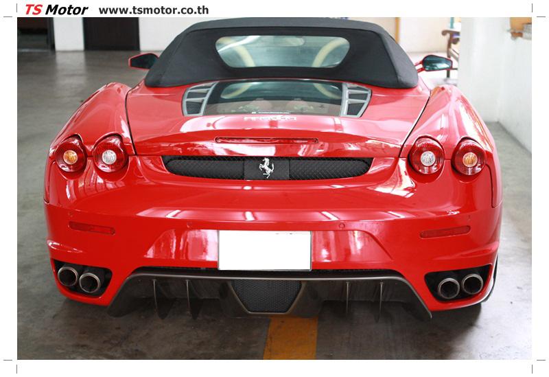 IMG 4198 อู่ทำสีรถ งานซ่อมสี เคลมประกัน Ferrari F430 สีแดง