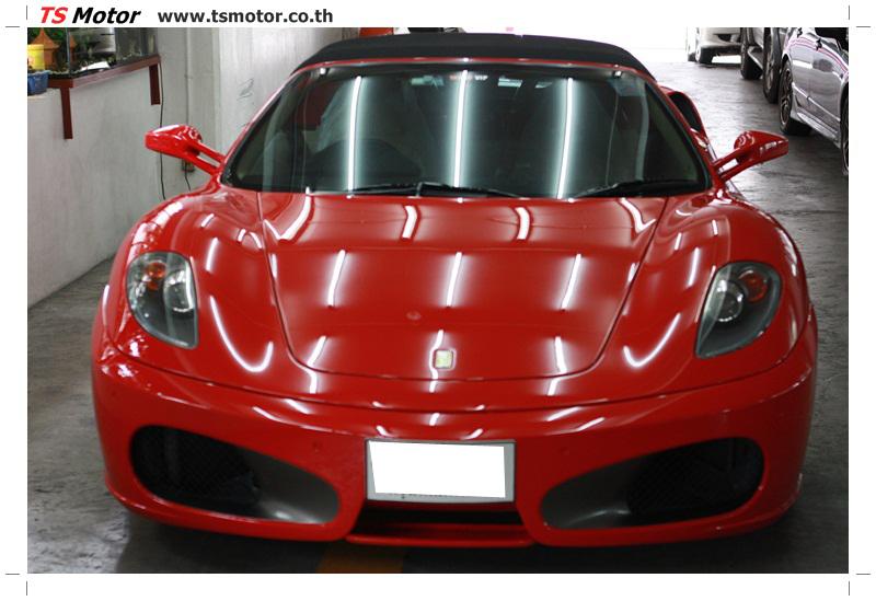 IMG 4202 อู่ทำสีรถ งานซ่อมสี เคลมประกัน Ferrari F430 สีแดง