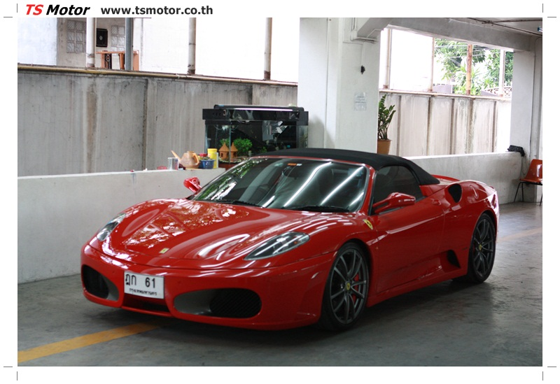 IMG 4203 อู่ทำสีรถ งานซ่อมสี เคลมประกัน Ferrari F430 สีแดง