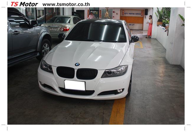 IMG 4968 อู่สี ทีเอส มอเตอร์ งานซ่อม BMW  E90 320d จากลูกค้ารุ่นน้องขาประจำ