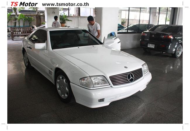 IMG 5020 Mercedes Benz SL500 Color Change
