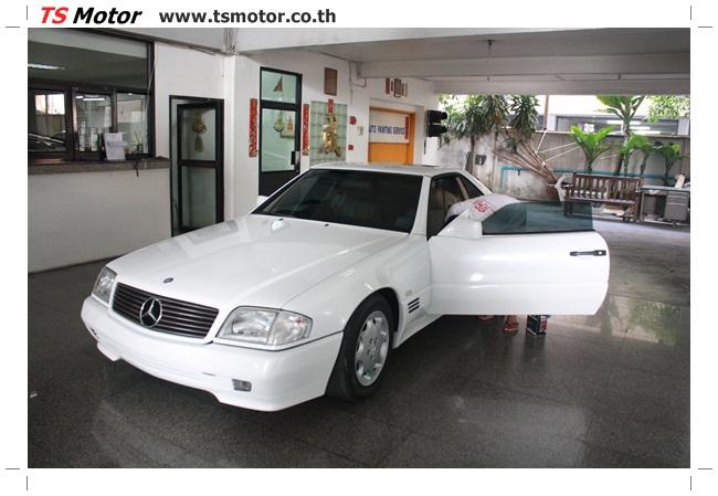 IMG 5022 Mercedes Benz SL500 Color Change