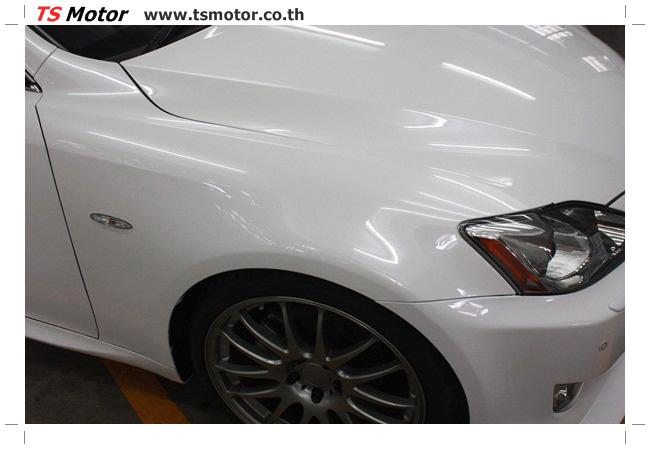 IMG 5057 งานซ่อมสี Lexus IS250 ขาวมุก