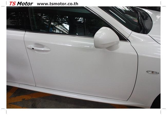 IMG 5058 งานซ่อมสี Lexus IS250 ขาวมุก