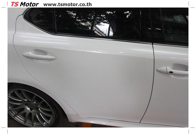 IMG 5059 งานซ่อมสี Lexus IS250 ขาวมุก