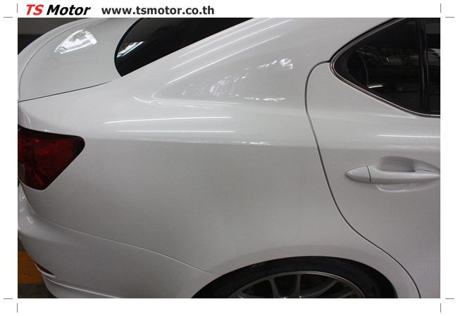 IMG 5060 งานซ่อมสี Lexus IS250 ขาวมุก