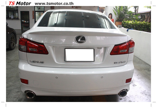 IMG 5063 งานซ่อมสี Lexus IS250 ขาวมุก