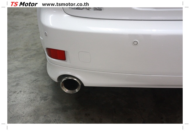 IMG 5065 งานซ่อมสี Lexus IS250 ขาวมุก