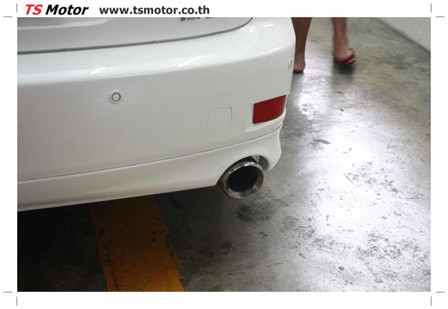 IMG 5066 งานซ่อมสี Lexus IS250 ขาวมุก