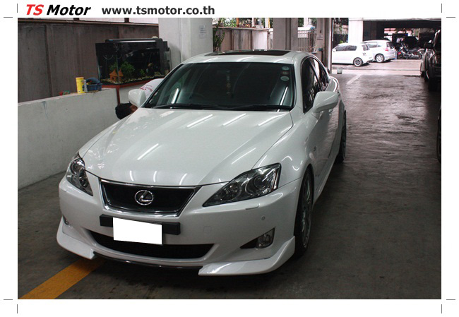 IMG 5069 งานซ่อมสี Lexus IS250 ขาวมุก