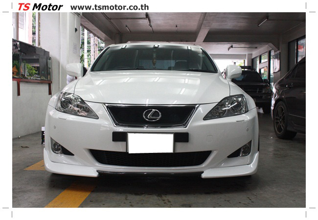 IMG 5070 งานซ่อมสี Lexus IS250 ขาวมุก