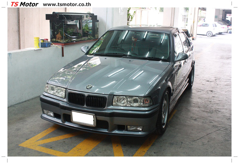 IMG 5074 อู่สี ทีเอส มอเตอร์ งานซ่อม BMW  325i แต่ง M แท้ นำเข้าตามเจ้าของรถ จาก UK
