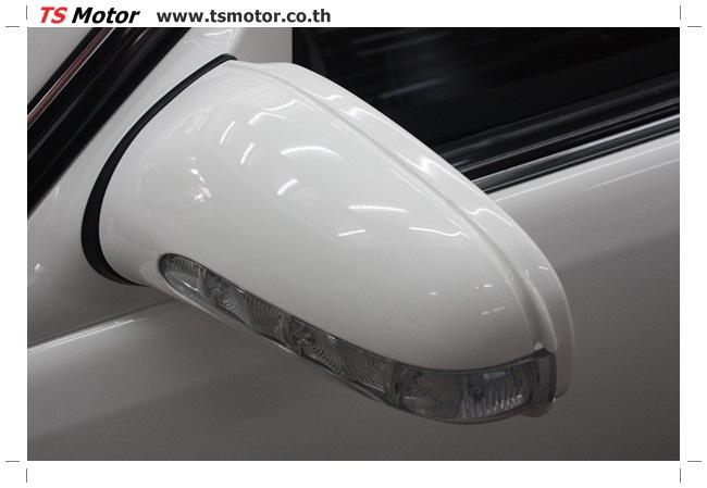 IMG 5090 อู่สี พ่นสีรอบคัน Merc Benz CL500 สีขาว